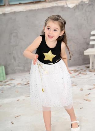 12-14 нарядное красивое детское платье на выпускной праздник утренник фотосессию