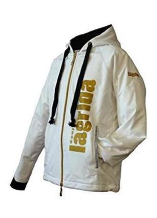 Lagrida sports фирменная ветронепроницаемая утепленная легкая спортивная ветровка-куртка