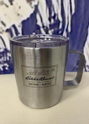 Термочашка eddie bauer double-wall stainless steel mug 330 мл