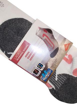 Женские зональные носки для бега махровая подошва бренд crivit германия р. 39-40