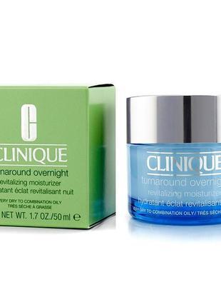 Ночной крем для лица clinique turnaround overnight revitalizing moisturizer