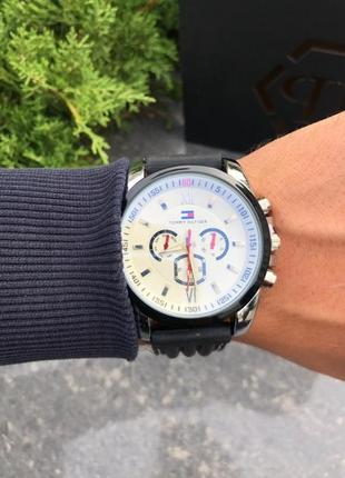 Часы tommy hilfiger black / white