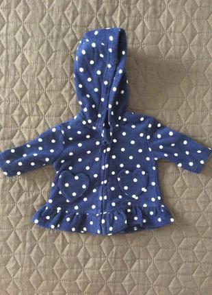 Флисовая курточка для девочки