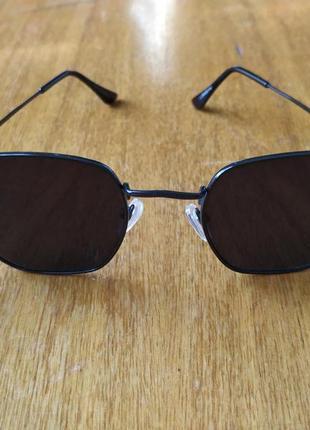 Солнцезащитные очки ray ban шестиугольные солнечные очки рей бен
