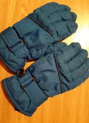 Лыжные перчатки , детские, р.5 , германия.