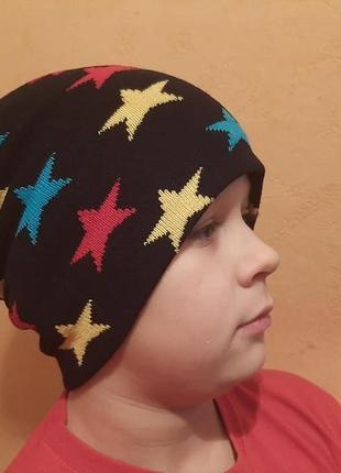 Классная детская шапка .