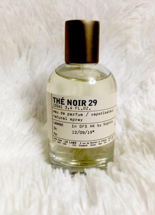 Le labo the noir 29_original_eau de parfum 5 мл затест туал духи
