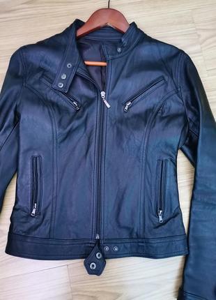 Куртка натуральная кожа кожанка косуха
