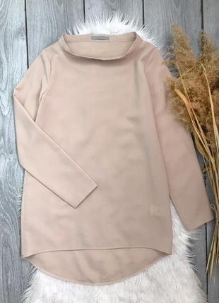 🔥акция 3=5🔥cos блузка блуза удлиненная телесного бежевого цвета s 36 8