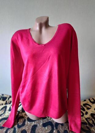 Легенький свитерок пуловер осень-весна