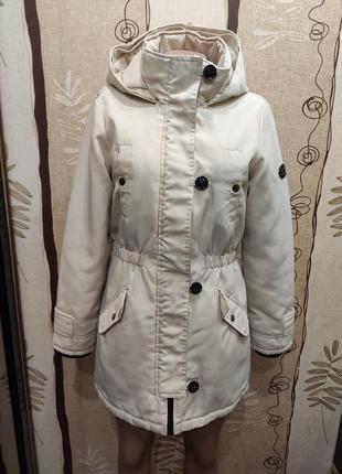 Vero moda шикарная зимняя парка, куртка