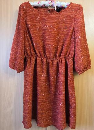 Лёгкое платье h&m, размер 42, made in india