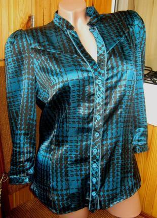 Женственная и элегантная блуза с баской от бренда next