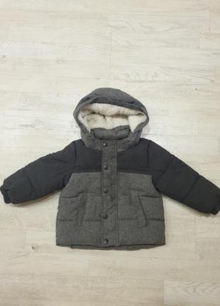 Зимняя курточка 9-12 мес
