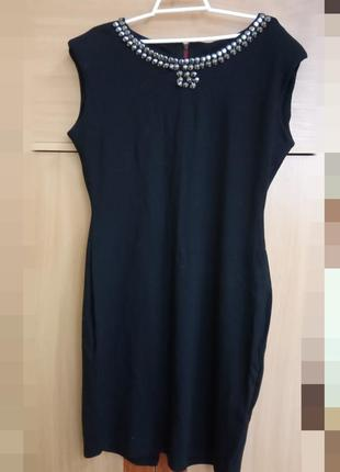 Брендовое, стильное, стрейчево-трикотажное платье бренд f&f
