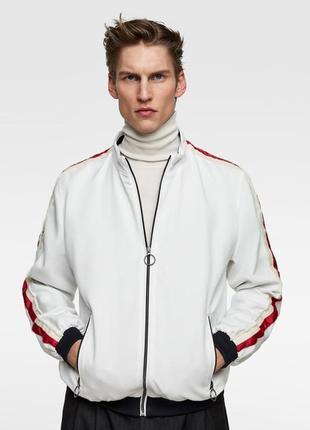 Новая мужская олимпийка кофта на молнии zara