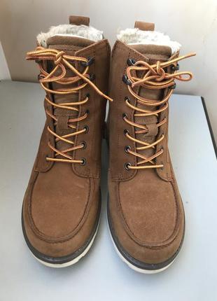 Сапоги зимние ecco jayden почти новые 38 размер ботинки