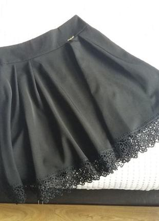 Миди юбка в складку