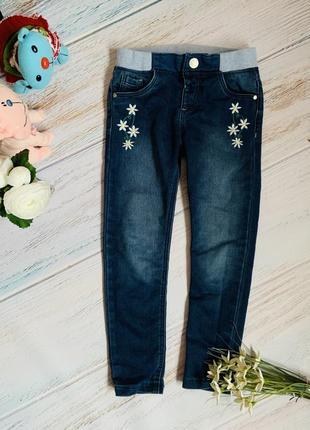Фирменные джинсы f&f малышке 4-5 лет