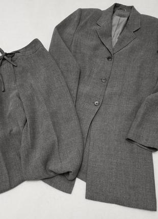 Брючный костюм с удлиненным пиджаком principles