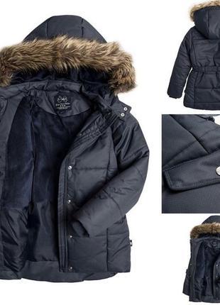 Зимняя куртка-пальто на девочку cool club польша. размер 152