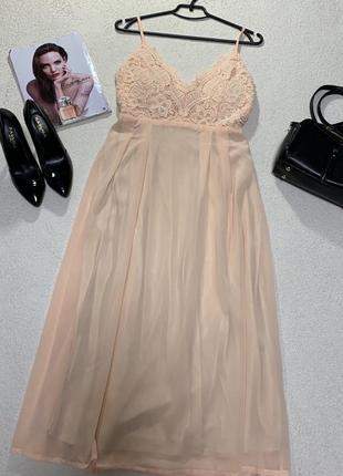Стильное платье-сарафан, размер xl
