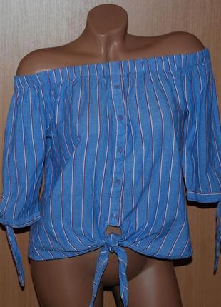 Блуза летняя бренда new look  /100% хлопок /
