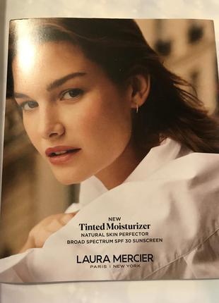 Набор пробников тонального флюида с спф 30 laura mercier tinted moisturizer