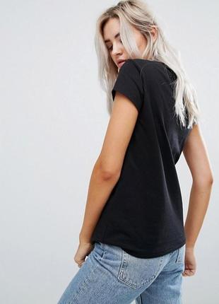 Черная базовая однотонная футболка 100% хлопок размеры2 фото