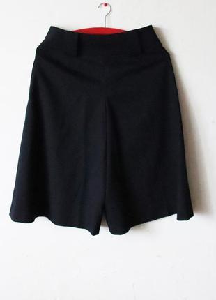 Шорты юбка karen millen шерсть в составе высокая посадка