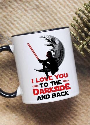 Чашка dark side