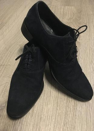 Итальянские статусные туфли оксфорды zilli