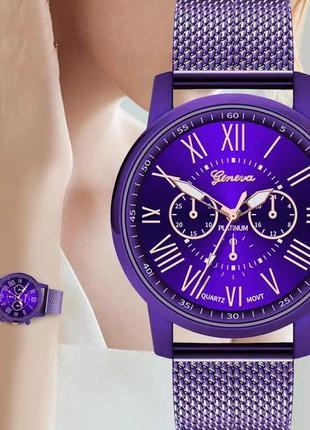 Часы женские наручные на силиконовом ремешке