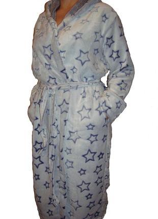 Халаты махровые  с капюшоном,размеры 44-58
