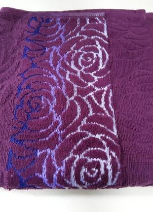 Жаккардовое махровое полотенце 100% хлопок турция