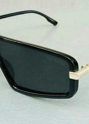 Tom ford очки женские солнцезащитные маска черные узкие