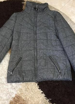 Куртка дутая парка пальто пуховик пуффер зефир
