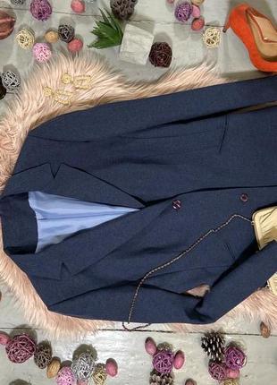 Актуальный удлиненный пиджак жакет блейзер №28