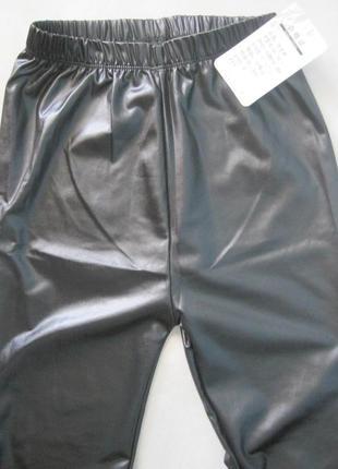 6. женские лосины с эффектом кожи7 фото