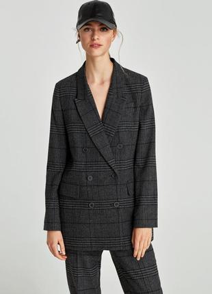 Удлиненный пиджак zara🔥