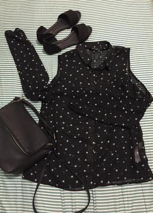 New look тонкая и лёгкая блузка.