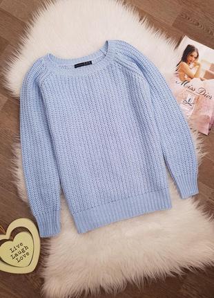 Голубой свитер atmosphere, распродажа! кофта джемпер