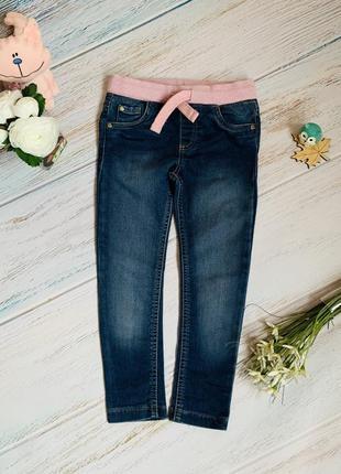 Фирменные джинсы f&f малышке 3-4 года