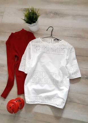 Рубашка блуза с прошвы
