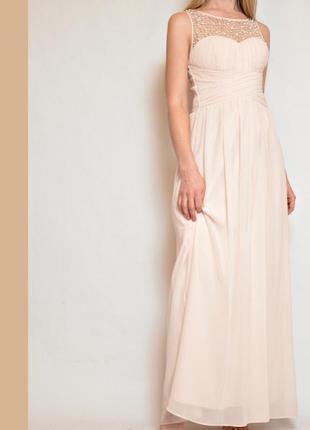 Платье вечернее макси
