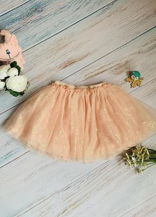Фирменная юбка tu девочке 4-5 лет