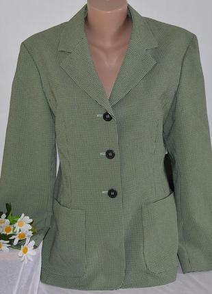 Брендовый пиджак жакет блейзер с карманами viventy by bernd berger коттон этикетка