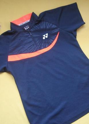 Новая спортивная яркая футболка,р.л,yonex,сток