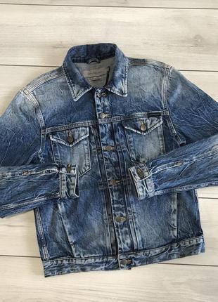 Мужская джинсовая куртка calvin klein jeans с новых коллекций