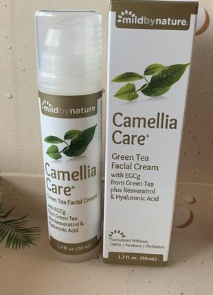 Крем для лица camellia care mild by nature